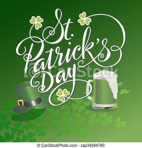 Saint Patricks Day - csp34294760