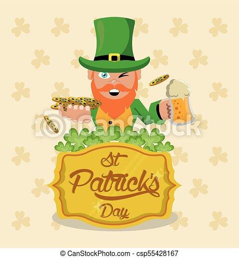 Saint patricks day - csp55428167