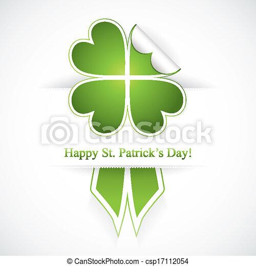 Saint Patrick's day - csp17112054