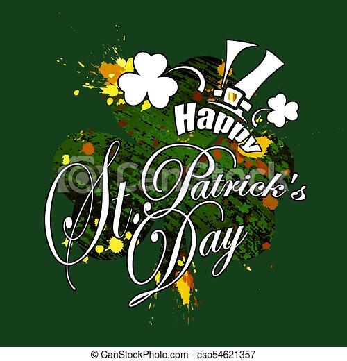Saint Patricks Day - csp54621357