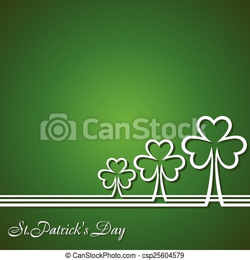 Saint Patrick's Day Design - csp25604579