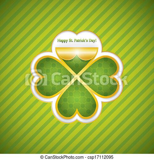 Saint Patrick's day - csp17112095