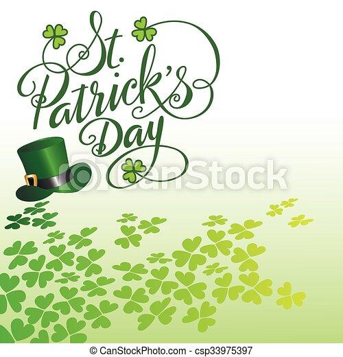 Saint Patricks Day - csp33975397