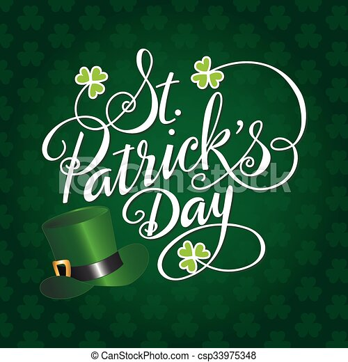 Saint Patricks Day - csp33975348