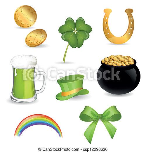 Saint Patrick's Day  - csp12298636