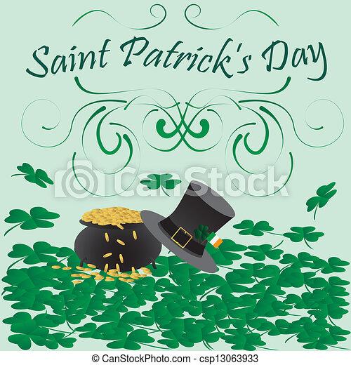 saint patricks day - csp13063933