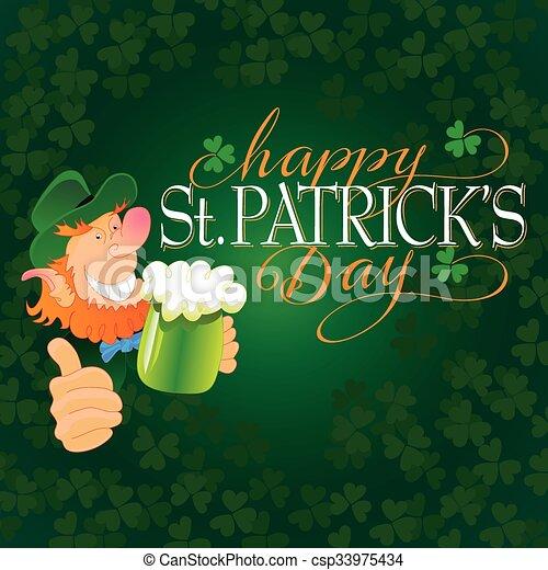 Saint Patricks Day - csp33975434