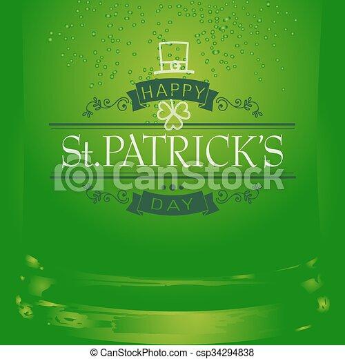 Saint Patricks Day - csp34294838