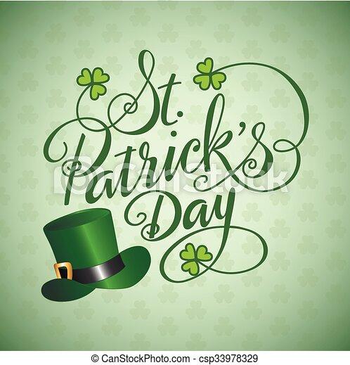 Saint Patricks Day - csp33978329