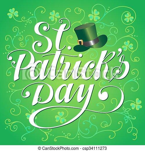 Saint Patricks Day - csp34111273