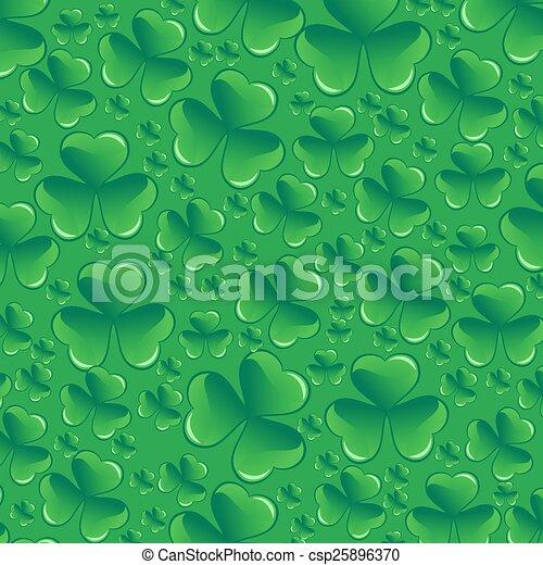 Saint Patricks day pattern - csp25896370