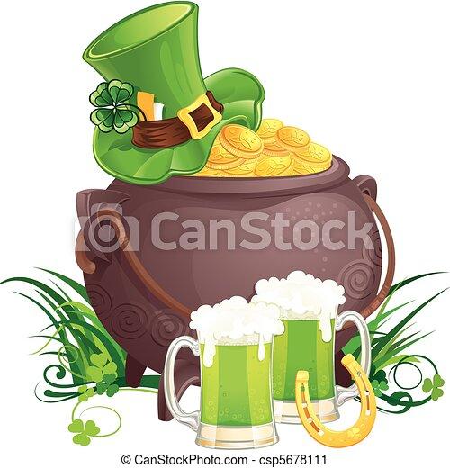 Saint Patrick's Day symbols - csp5678111