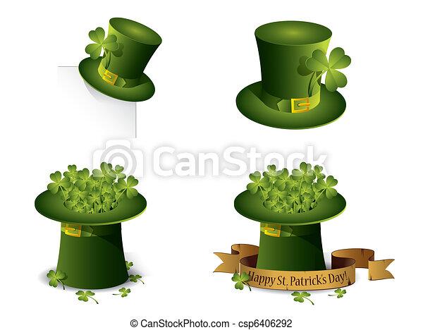 Saint Patrick's Day symbols vector - csp6406292