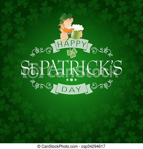 Saint Patricks Day - csp34294617