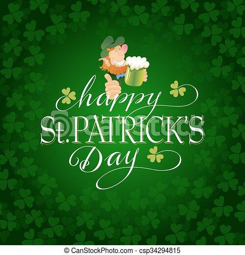 Saint Patricks Day - csp34294815