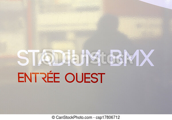 saint-quentin-en-yvelines, velodrome - csp17806712