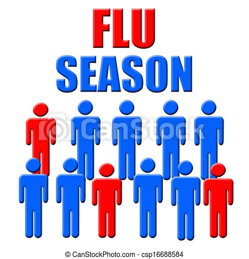 saison, grippe - csp16688584