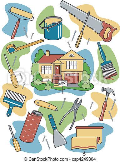 saját renovation - csp4249304