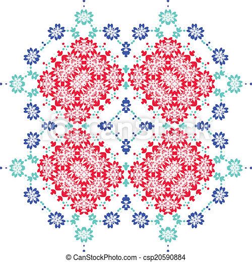 Sakura seamless pattern - csp20590884