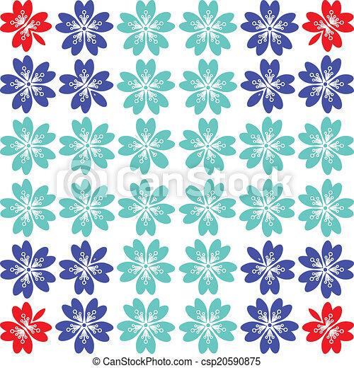 Sakura seamless pattern - csp20590875