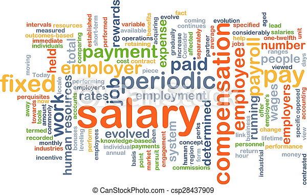 salário, conceito, fundo - csp28437909