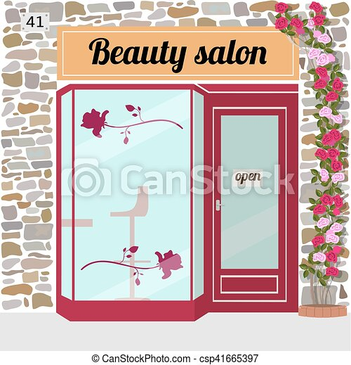salão, beleza - csp41665397