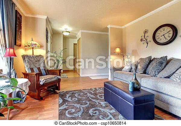 Diseño de interiores clásico y elegante. - csp10650814