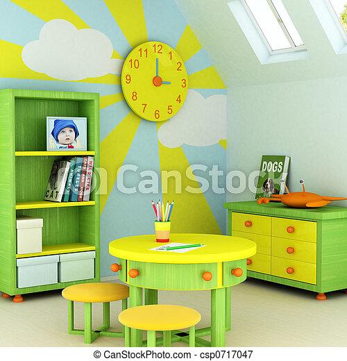 sala, criança - csp0717047