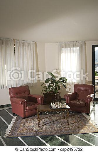 sala de estar - csp2495732