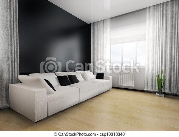 La sala de estar - csp10318340
