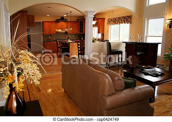 Sala de estar - csp0424749