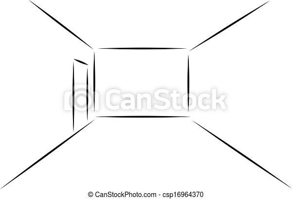 sala, vazio - csp16964370