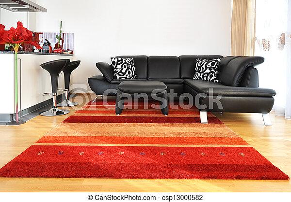 sala, vida moderna - csp13000582