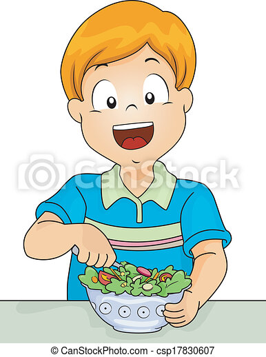 Salad Boy - csp17830607