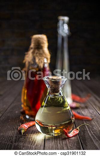 Salad dressing oil - csp31901132