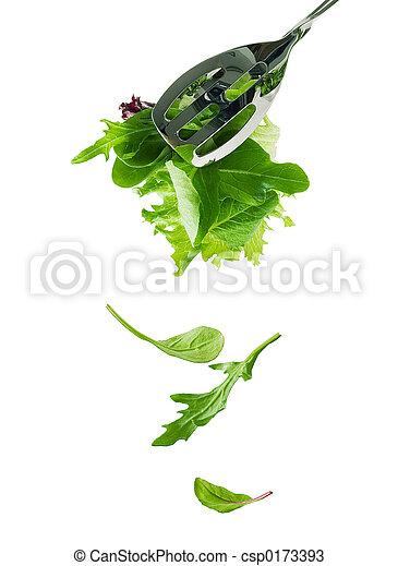 Salad leaves - csp0173393