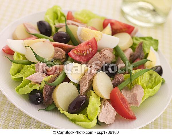 Salad of Tuna Nicoise - csp1706180