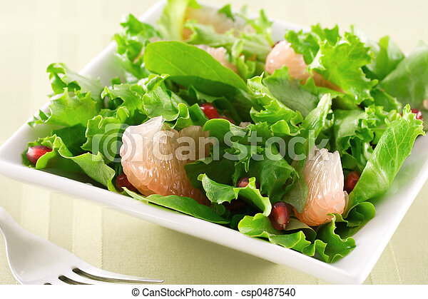 Salad - csp0487540