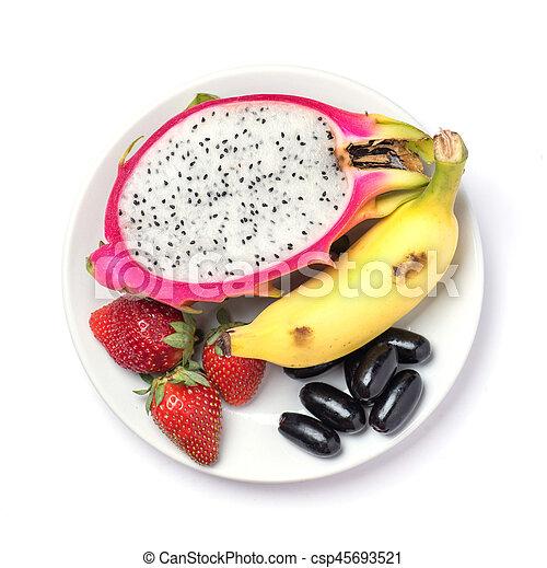salada fruta - csp45693521