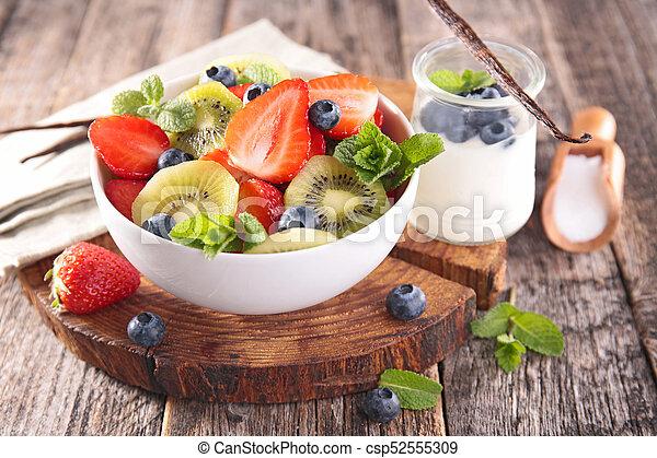 salada fruta - csp52555309