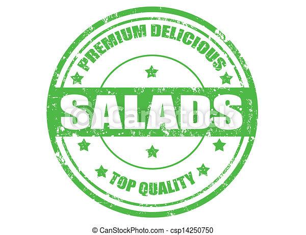 salades, timbre - csp14250750