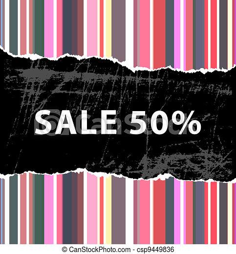 Sale background - csp9449836