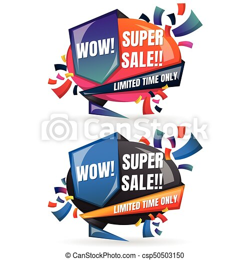 Sale Banner Design Template - csp50503150