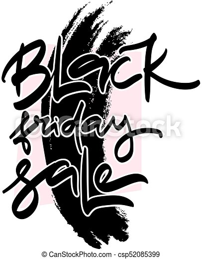 sale hand lettering design template black friday sale eps rh canstockphoto ca black friday shopping clipart black friday clipart images