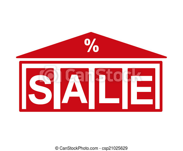 building silhouette with the word sale vector illustration rh canstockphoto com sale victoria secret sale victoria mn