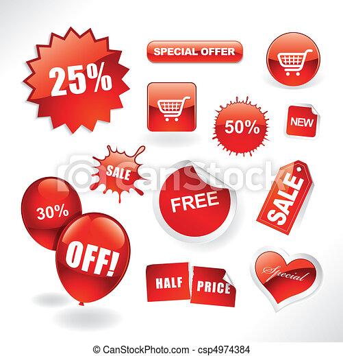 Sale items - csp4974384