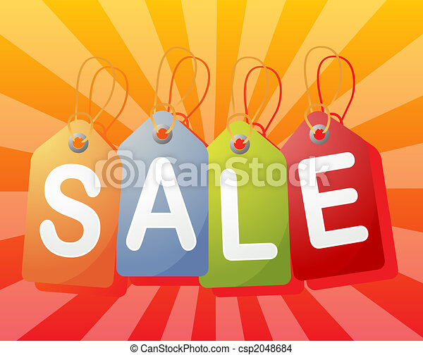 Sale label - csp2048684