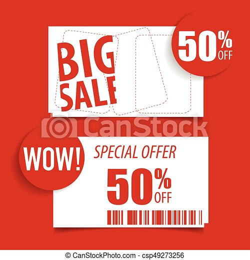 Sale Label Price Tag Template Design Vector Illustration Clipart