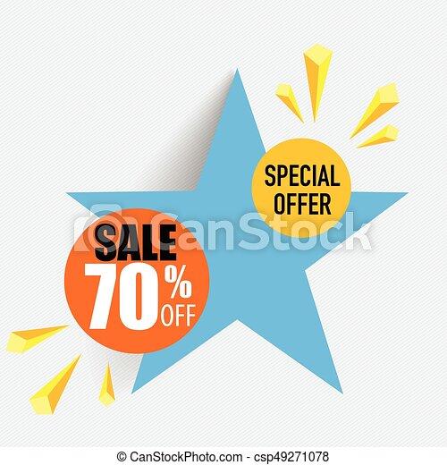 sale label price tag template design vector illustration