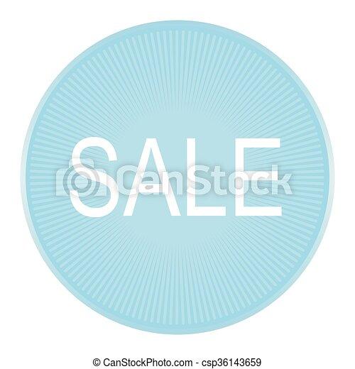 sale label. Vector. - csp36143659